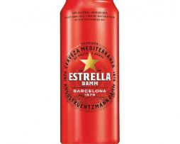 Estrella Damm Lager Beer 500ml